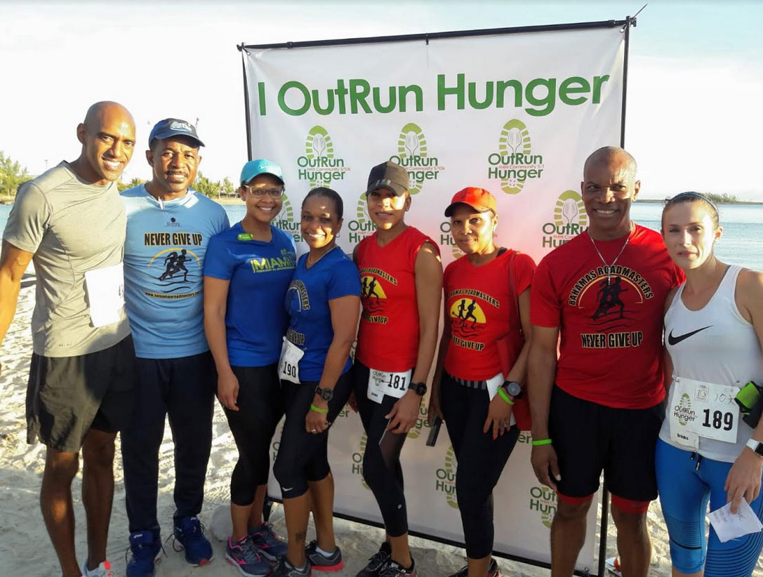 Bahamas Roadmasters at Hands for Hunger Run